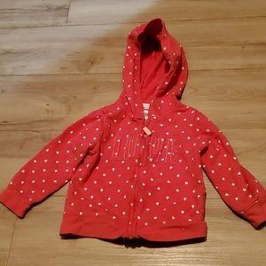 🏷 3 for $10 Girls Carter's zip up sweater